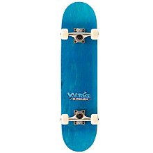Buy Enuff Volt Graffiti Skateboard, Blue Online at johnlewis.com