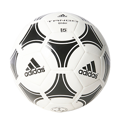 Adidas Tango Glider Football, Size 5, White/Black