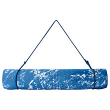 Buy Adidas 3-Stripes 6mm Yoga Mat, Blue Online at johnlewis.com