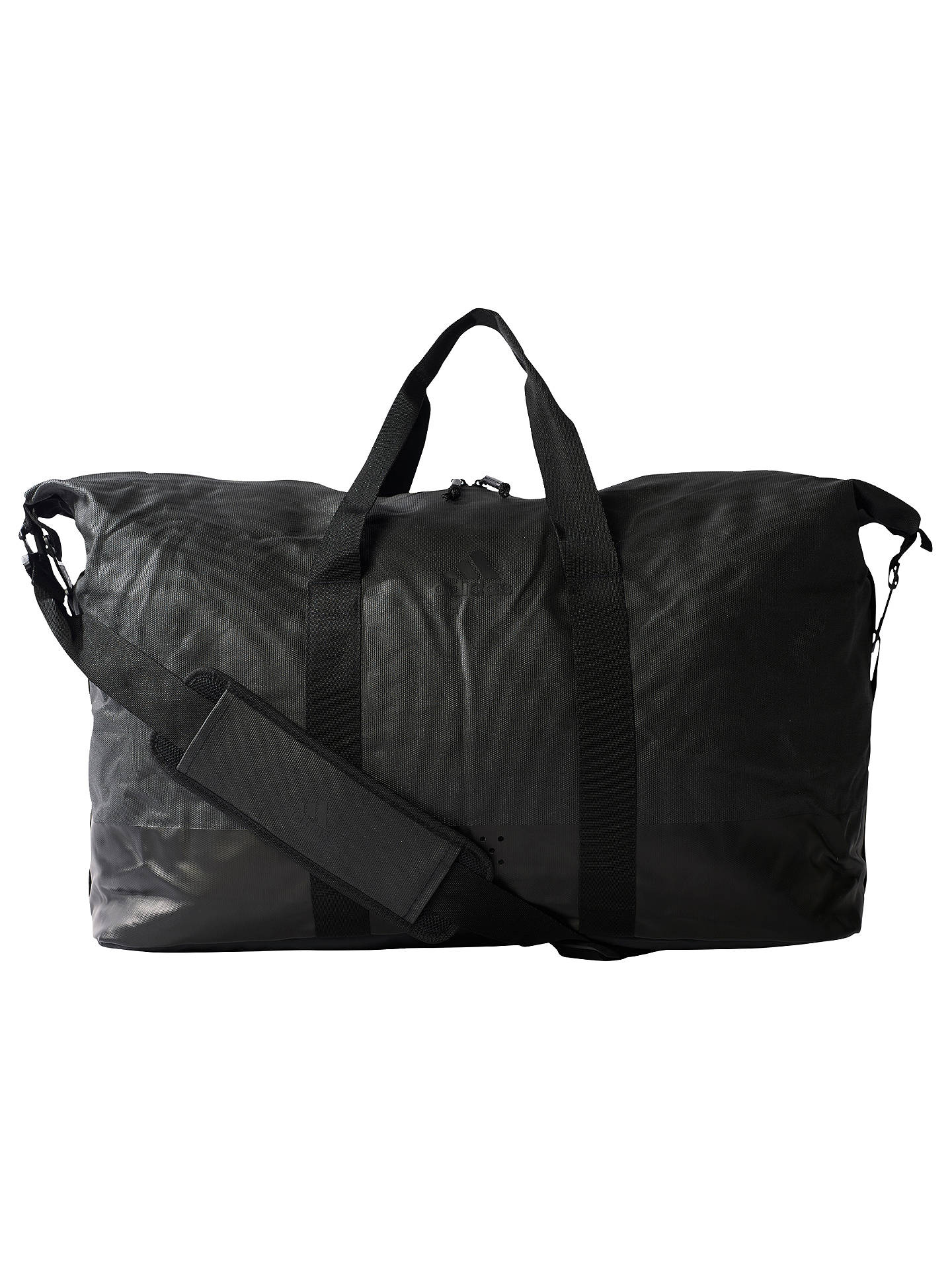 Adidas Top Training Team Bag, Black at John Lewis & Partners