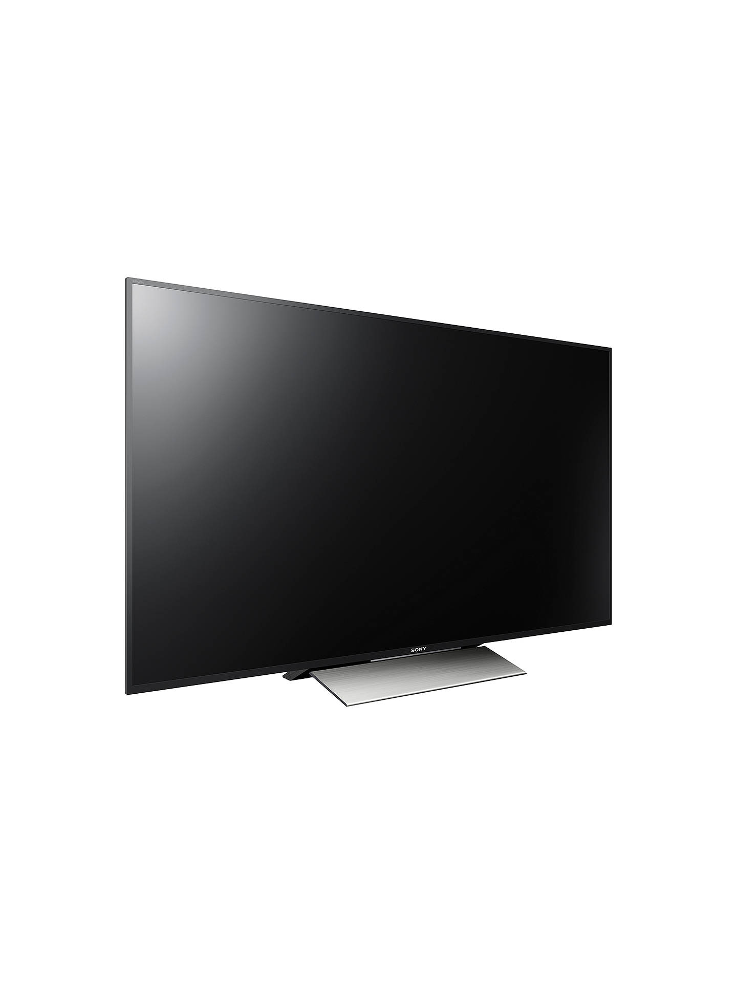 "BuySony Bravia 55XD8005 LED HDR 4K Ultra HD Android TV, 55"" With Youview/Freeview HD & Silver Slate Design Online at johnlewis.com"