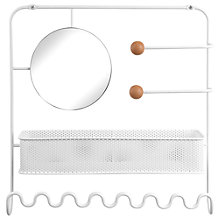 Buy Umbra Estique Hanging Rack and Mirror Online at johnlewis.com