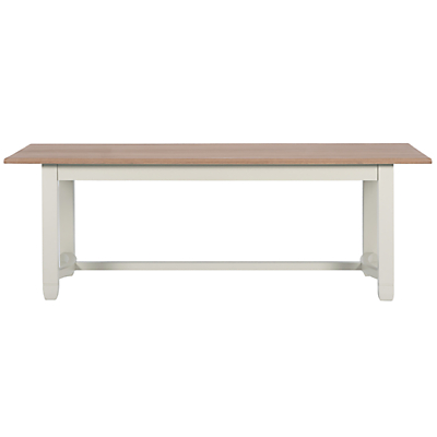 Neptune Chichester Fixed 220cm Dining Table, Shingle
