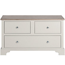 Buy Neptune Chichester Housekeeper Cabinet Base, Shingle Online at johnlewis.com