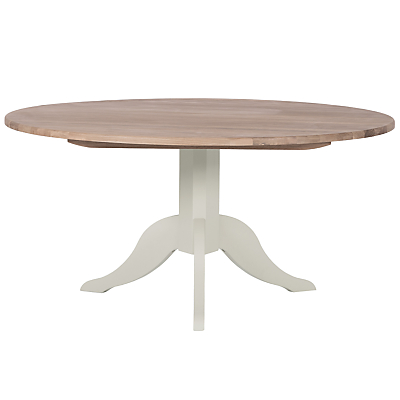 Neptune Chichester 150cm Round Dining Table, Shingle