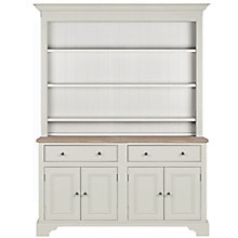 Buy Neptune Chichester 5ft Open Rack Dresser, Shingle Online at johnlewis.com