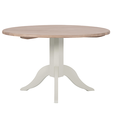Neptune Chichester 120cm Round Dining Table, Shingle