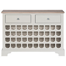 Buy Neptune Chichester 4ft Wine Rack Cabinet, Shingle Online at johnlewis.com