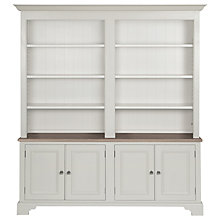 Buy Neptune Chichester 6ft Grand Bookcase, Shingle Online at johnlewis.com