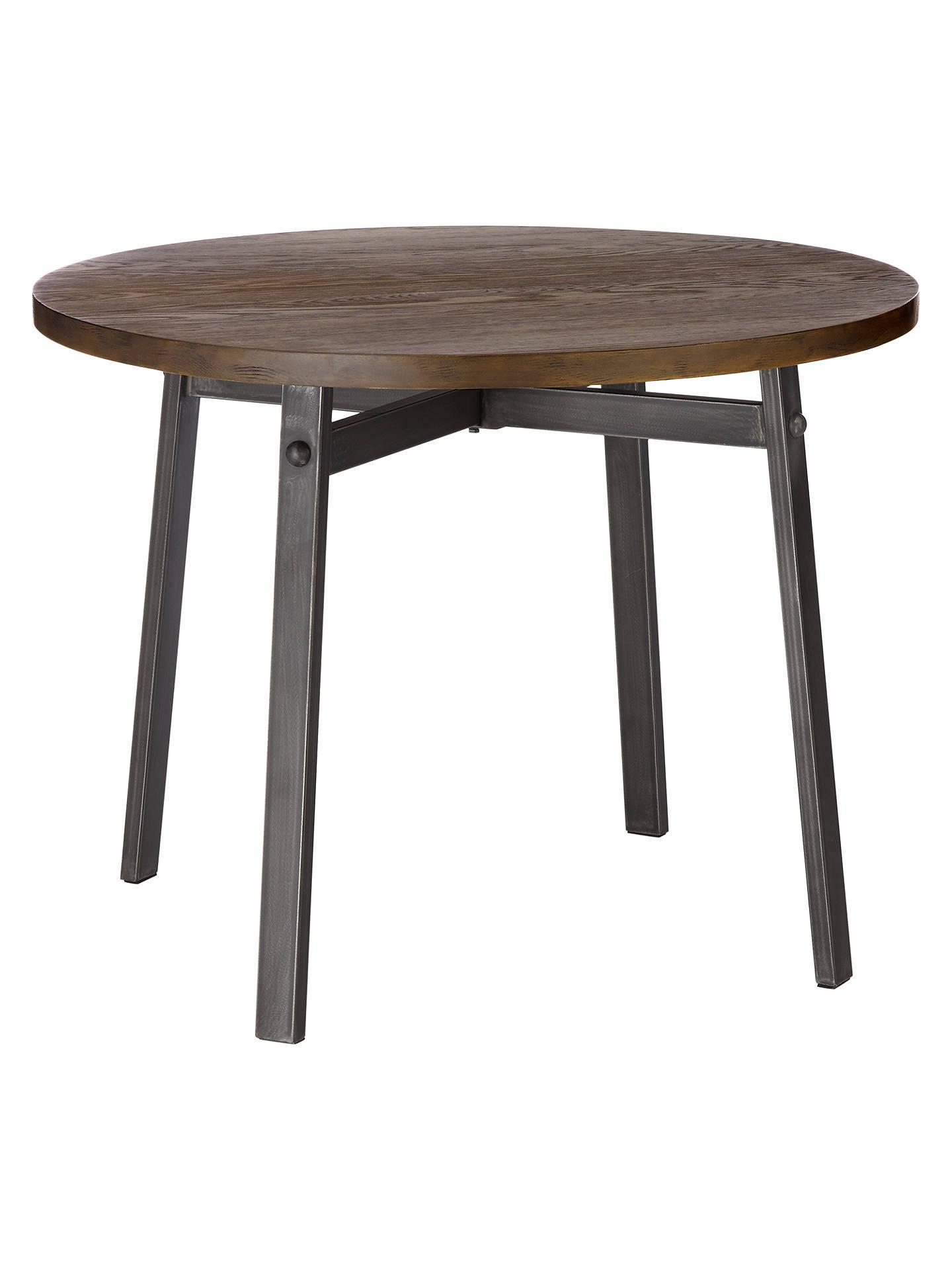 john lewis calia round dining table at john lewis partners. Black Bedroom Furniture Sets. Home Design Ideas