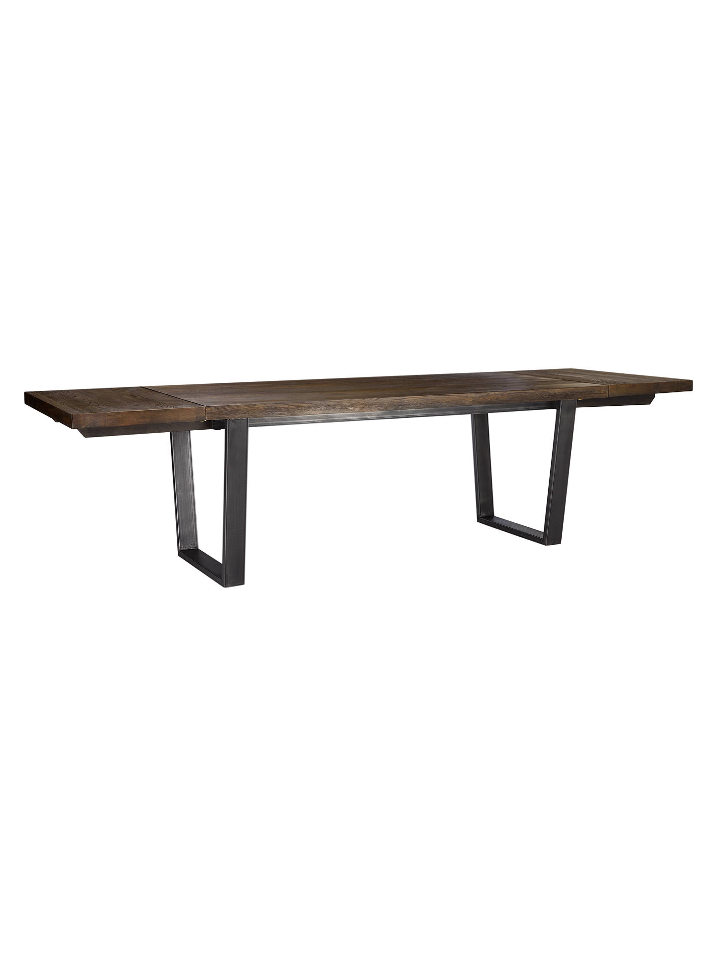 BuyJohn Lewis & Partners Calia 8-12 Seater Extending Dining Table, Dark Online at johnlewis.com