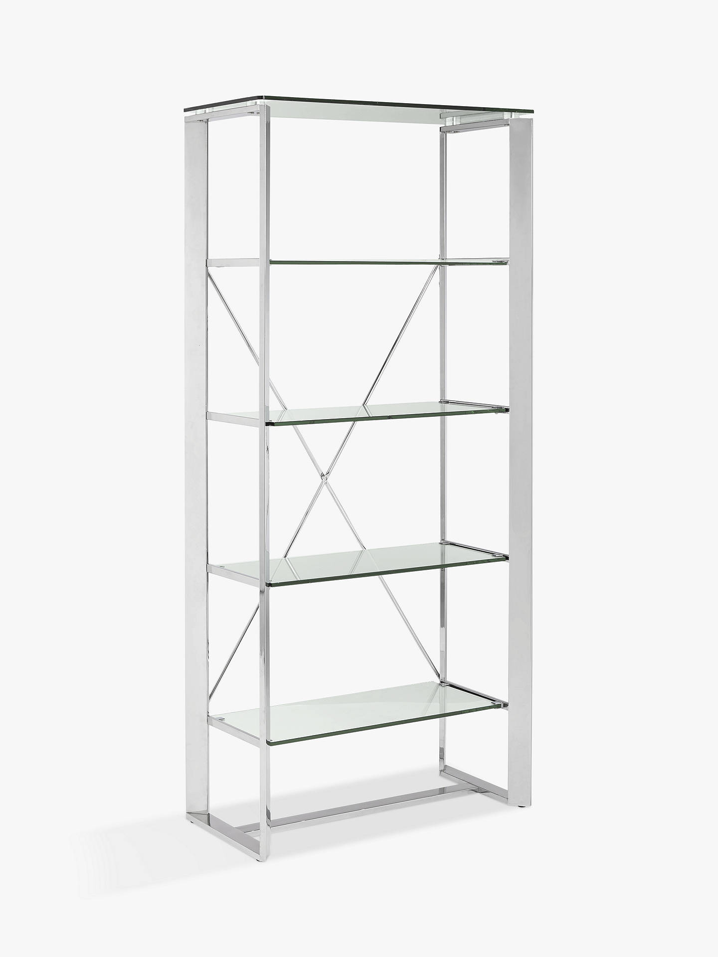 42c46ddca3c2 Buy John Lewis & Partners Tropez Rectangular Shelving Unit Online at  johnlewis. ...