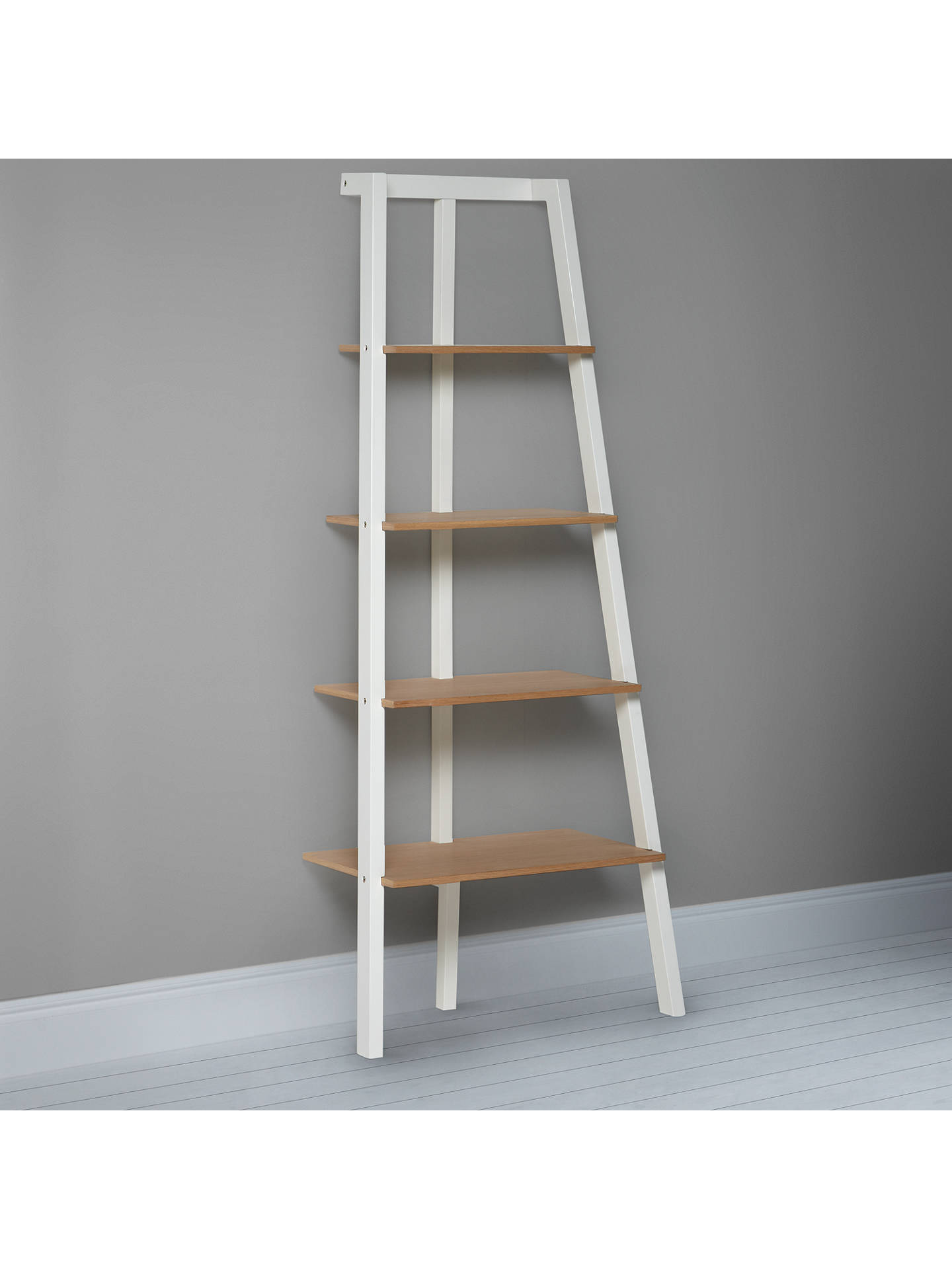 BuyHouse by John Lewis Cuthbert Bookcase, White Online at johnlewis.com