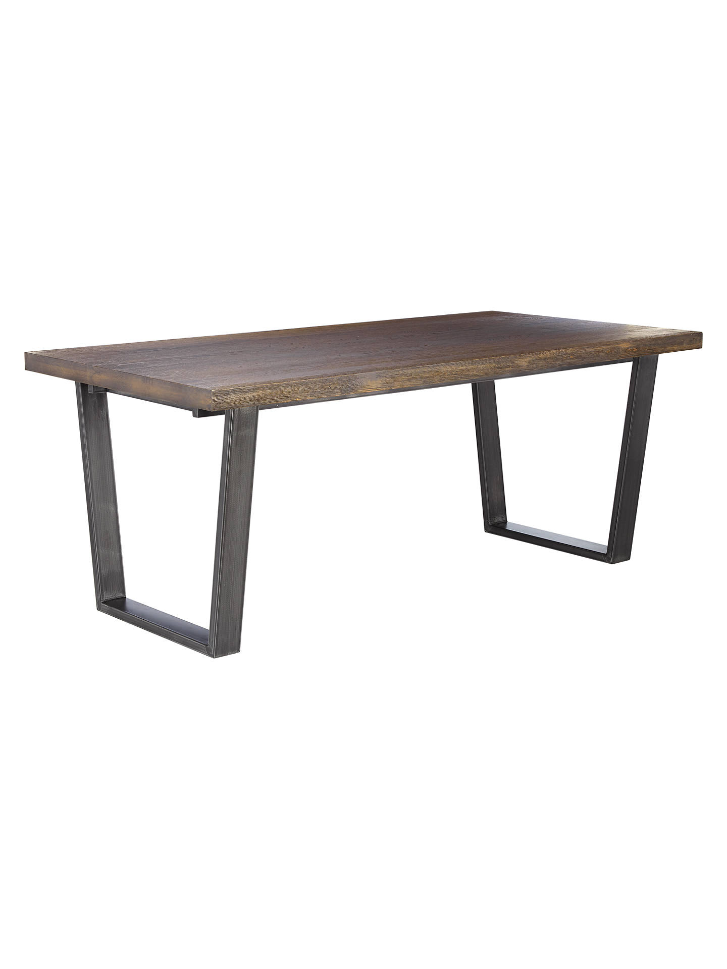 Buy John Lewis & Partners Calia 8 Seater Dining Table, Dark Online at johnlewis.com