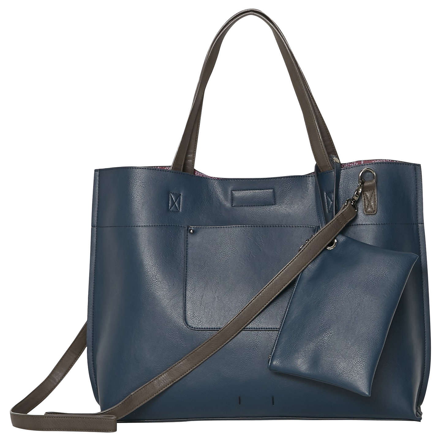 White Stuff Christie Reversible Tote Bag Navy Online At Johnlewis