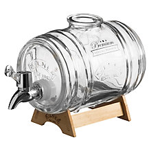 Buy Kilner Barrel Spirits Dispenser, 1L Online at johnlewis.com