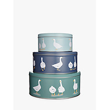 Buy John Lewis Country Geese Cake Tins, Set of 3 Online at johnlewis.com