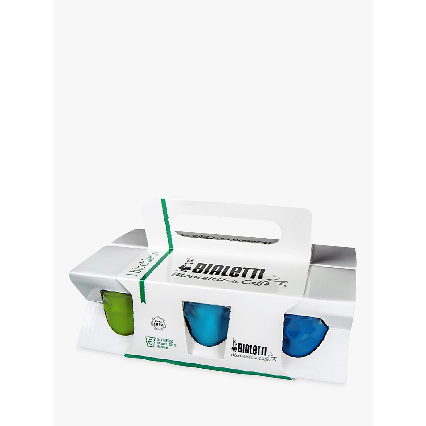 buy bialetti espresso cups set of  multi  john lewis -  buy bialetti espresso cups set of  multi online at johnlewiscom