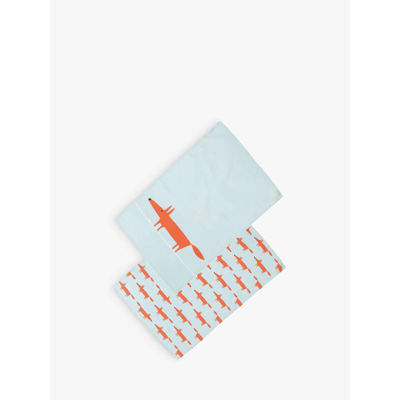 Scion Mr Fox Tea Towels, Pack Of 2