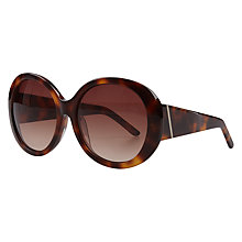 Buy AND/OR Chunky Glam Round Sunglasses Online at johnlewis.com