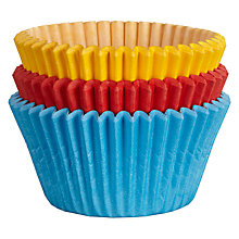 Buy John Lewis Cupcake Cases, Pack of 75, Rainbow Online at johnlewis.com