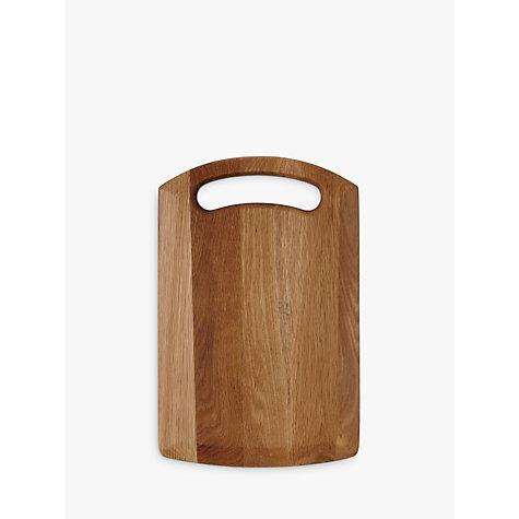 buy john lewis classic core oak chopping board large online at