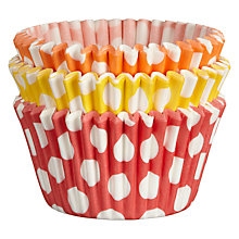 Buy John Lewis Spot Cupcake Cases, Pack of 75 Online at johnlewis.com