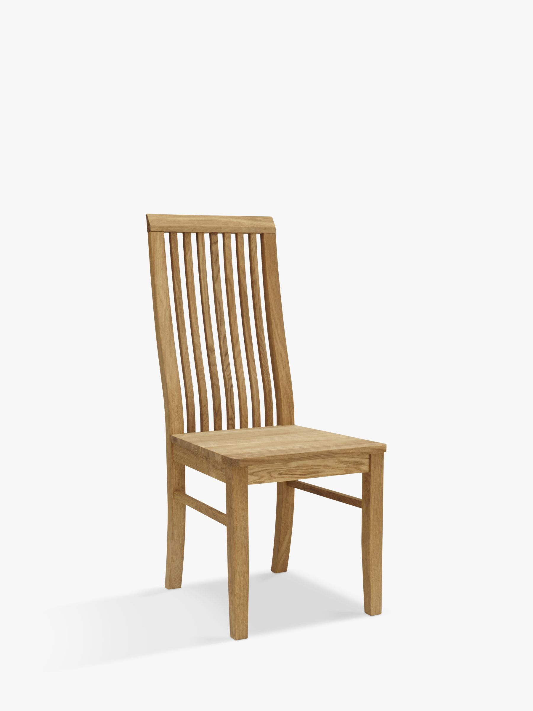 John Lewis Partners Henry Wooden Seat Dining Chair