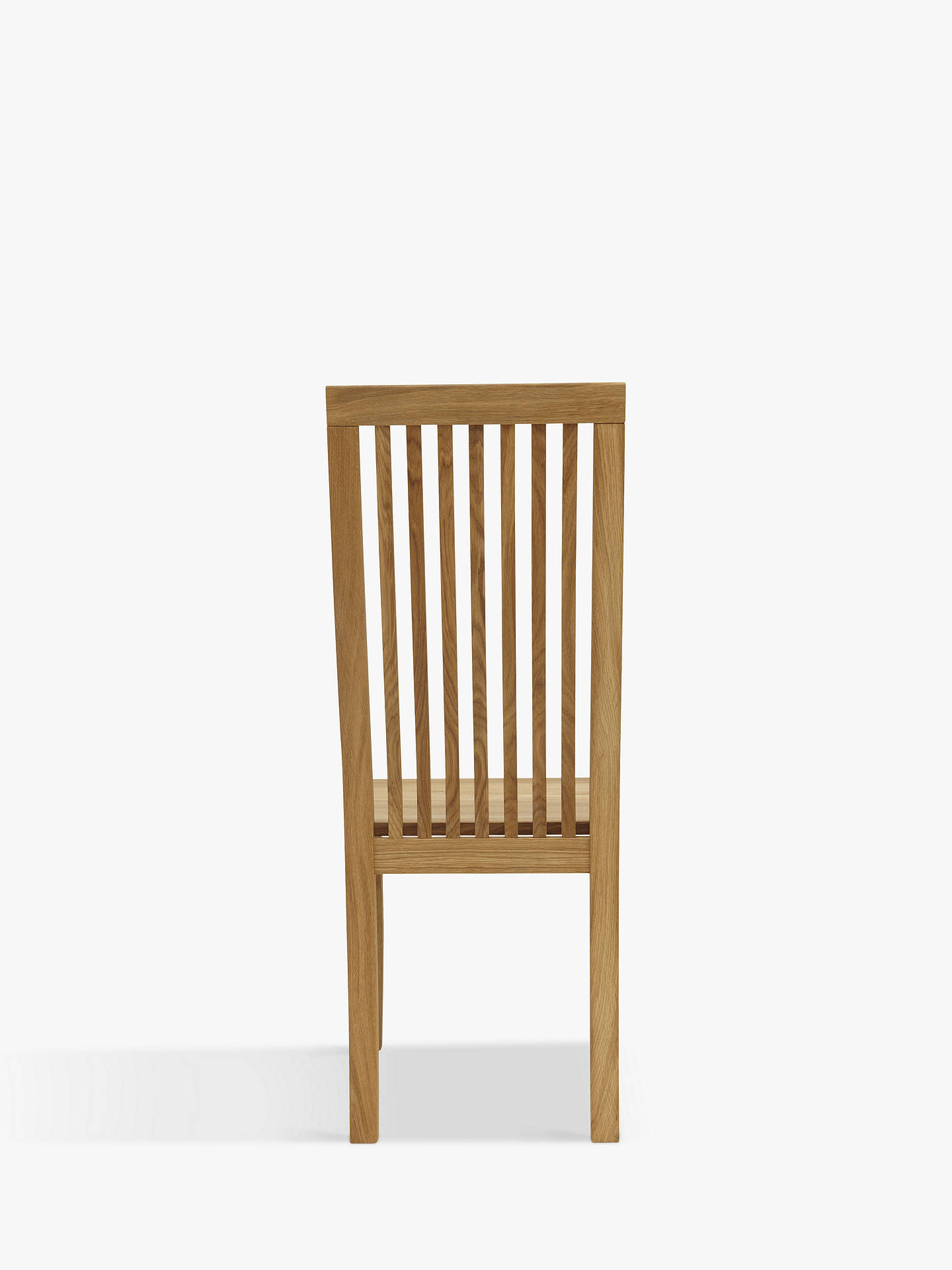 Buy John Lewis & Partners Henry Wooden Seat Dining Chair, Oak Online at johnlewis.com