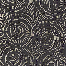 Buy Harlequin Fractal Curtain, Charcoal Online at johnlewis.com
