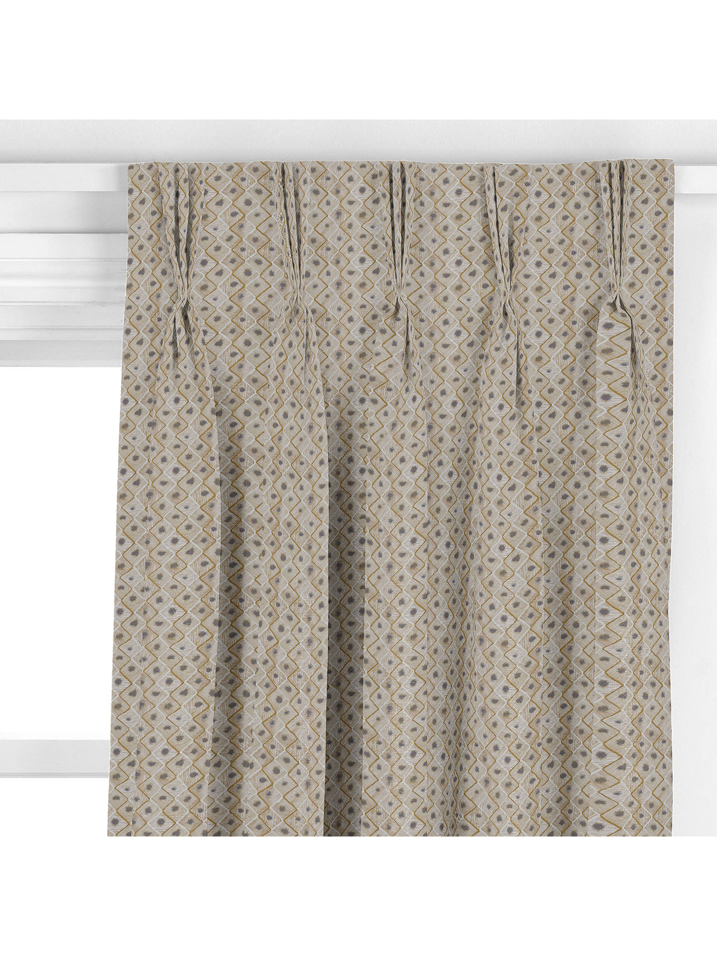 BuyHarlequin Coralite Curtain, Brass Online at johnlewis.com