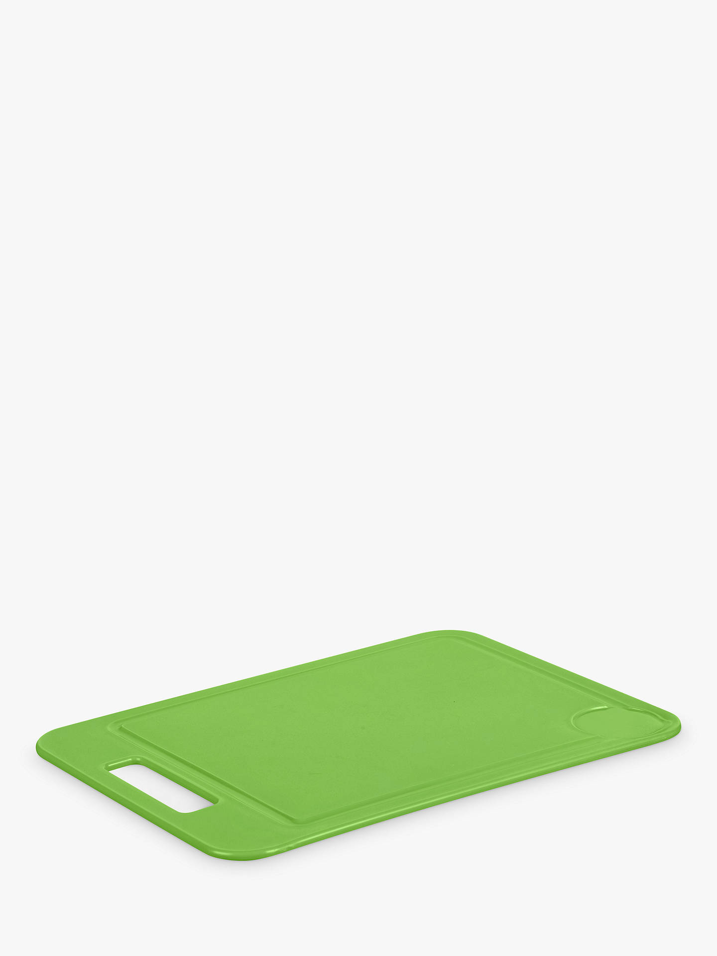 BuyJohn Lewis & Partners The Basics Chopping Board, Green Online at johnlewis.com