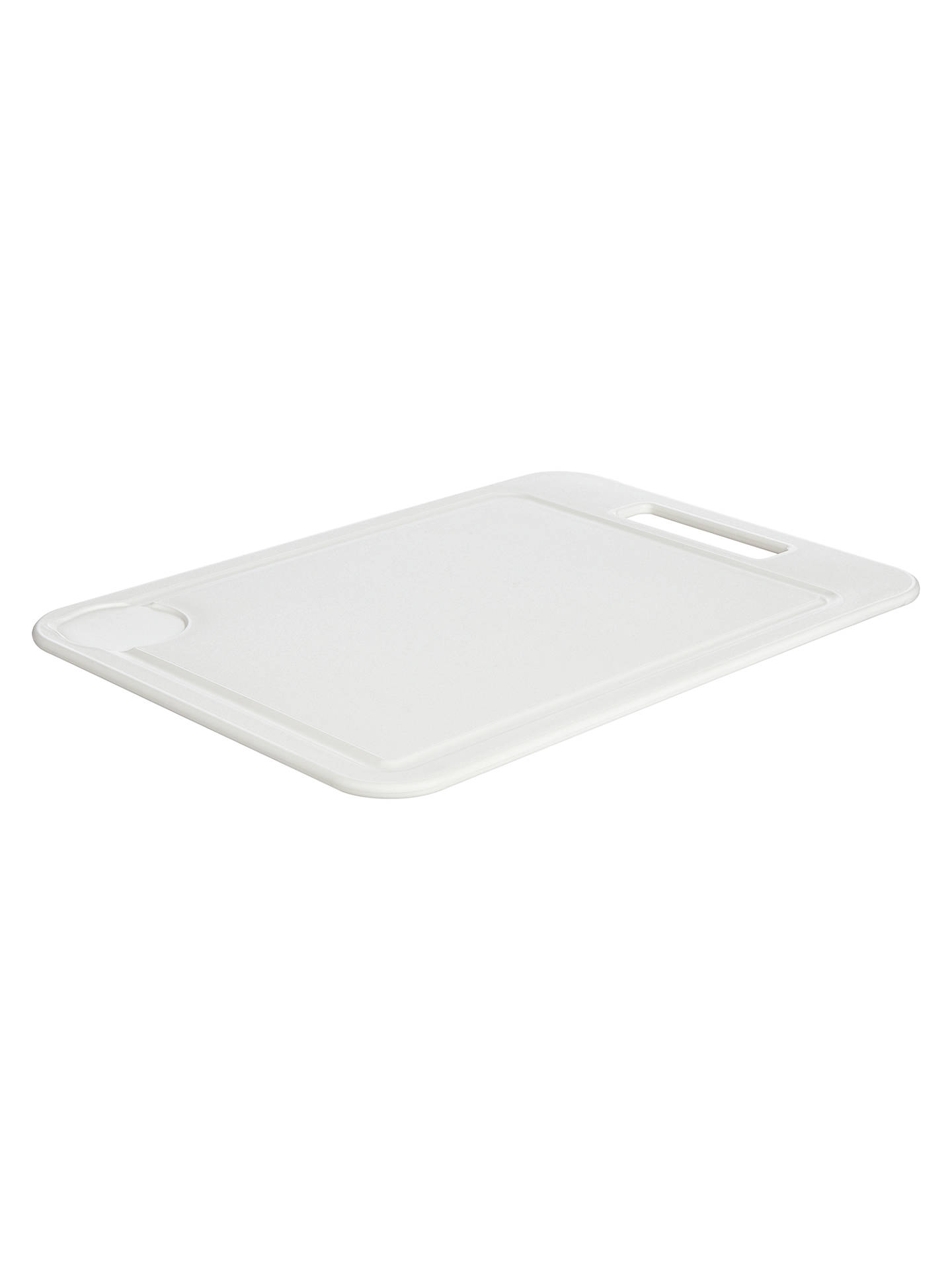BuyJohn Lewis & Partners The Basics Chopping Board, White Online at johnlewis.com