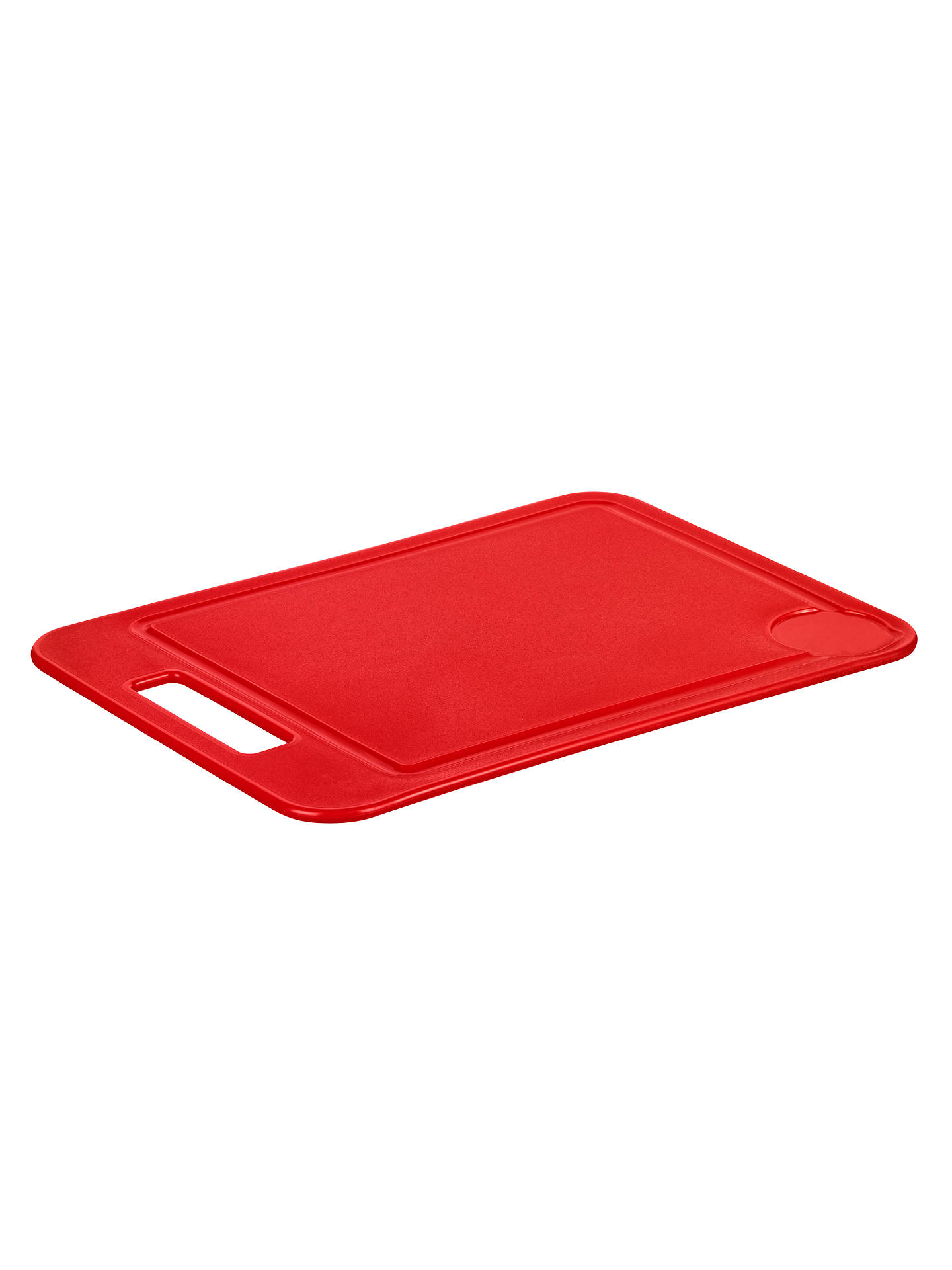 BuyJohn Lewis & Partners The Basics Chopping Board, Red Online at johnlewis.com