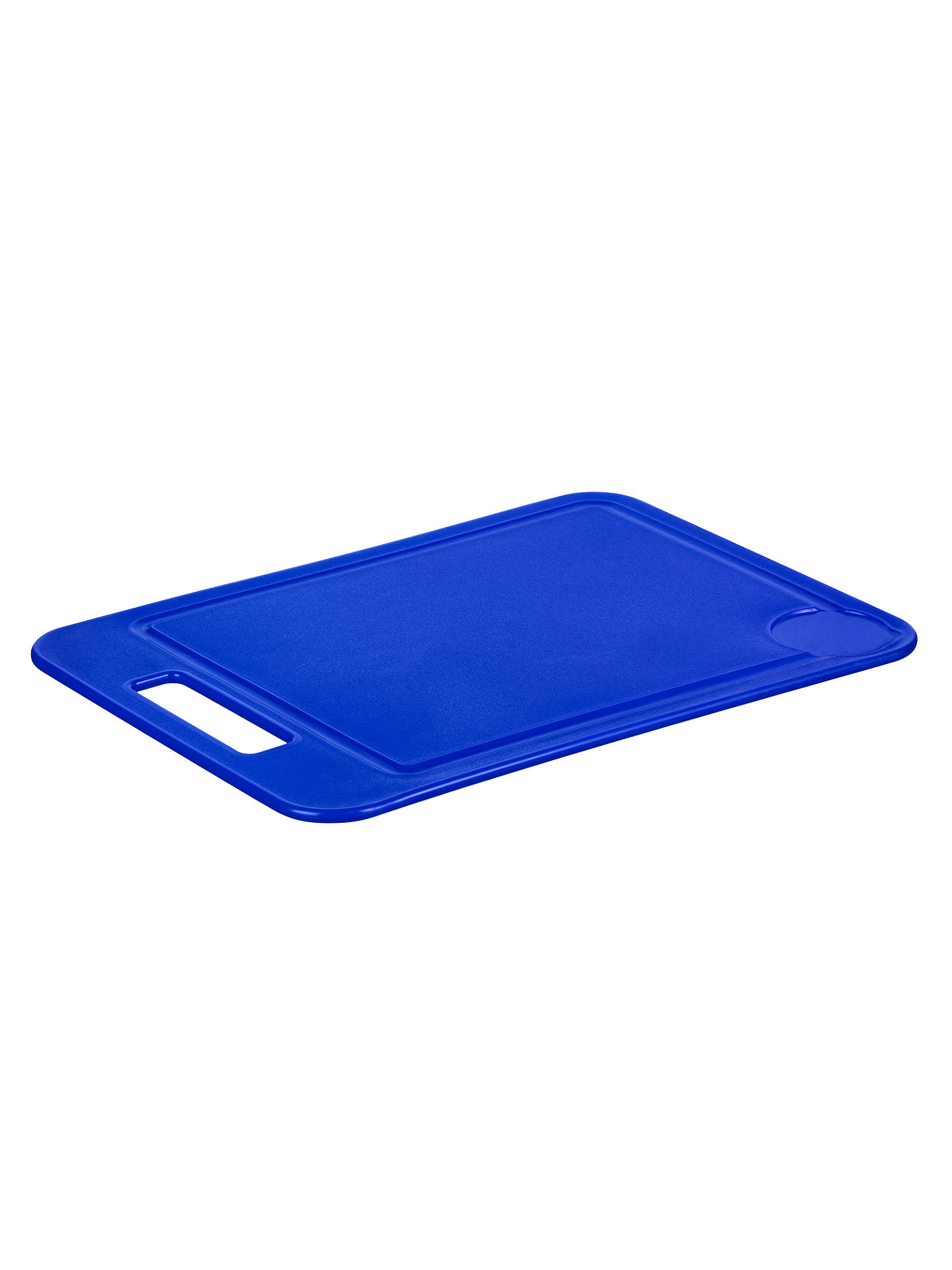 BuyJohn Lewis & Partners The Basics Chopping Board, Blue Online at johnlewis.com
