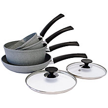 Buy Eaziglide Neverstick Cookware Set, 4 Piece Online at johnlewis.com