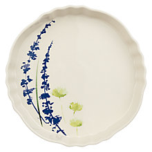 Buy John Lewis Country Stoneware Flan Oven Dish Online at johnlewis.com