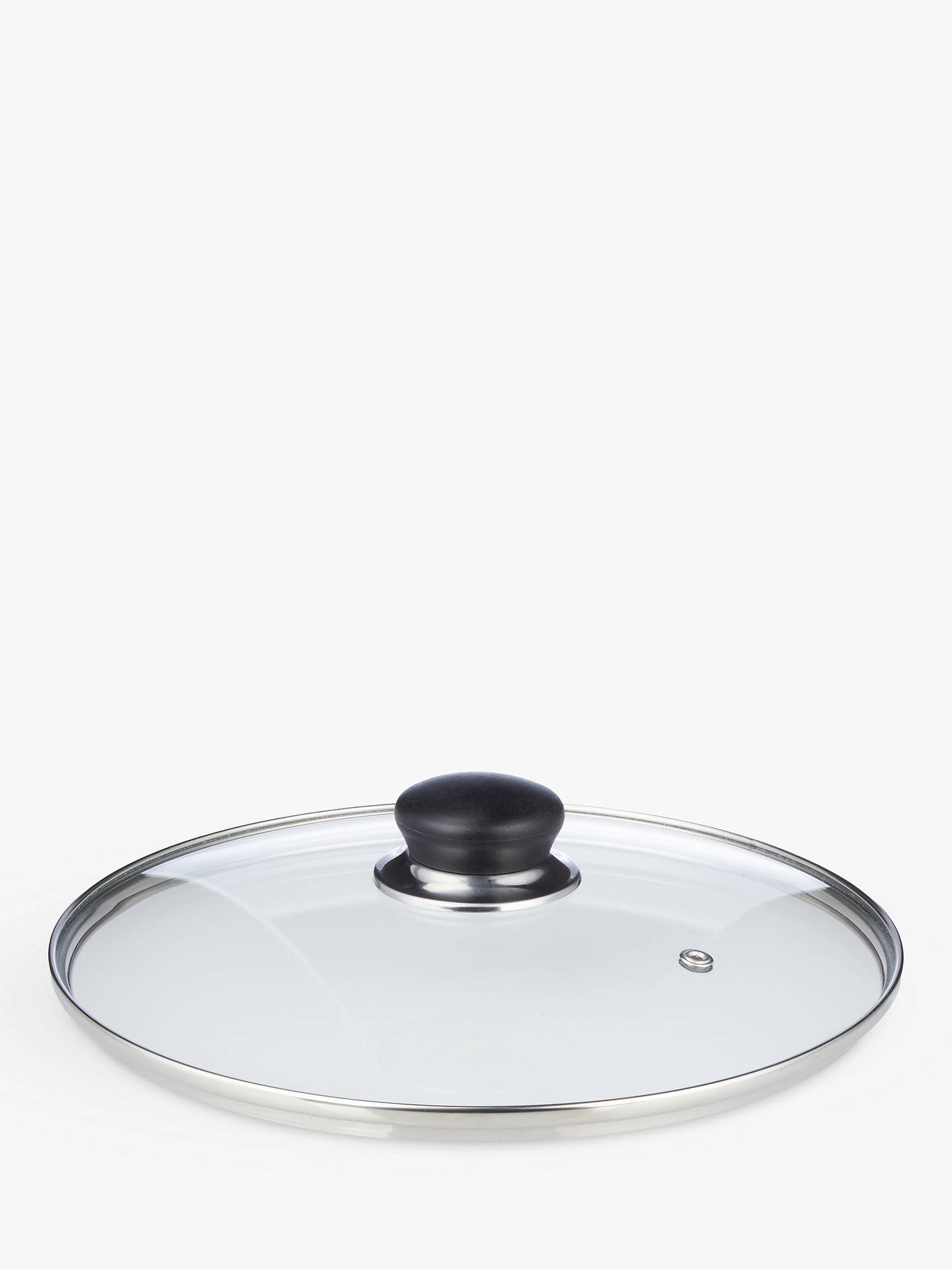 Buy John Lewis & Partners The Basics Non-Stick Stockpot with Lid, Dia.24cm Online at johnlewis.com