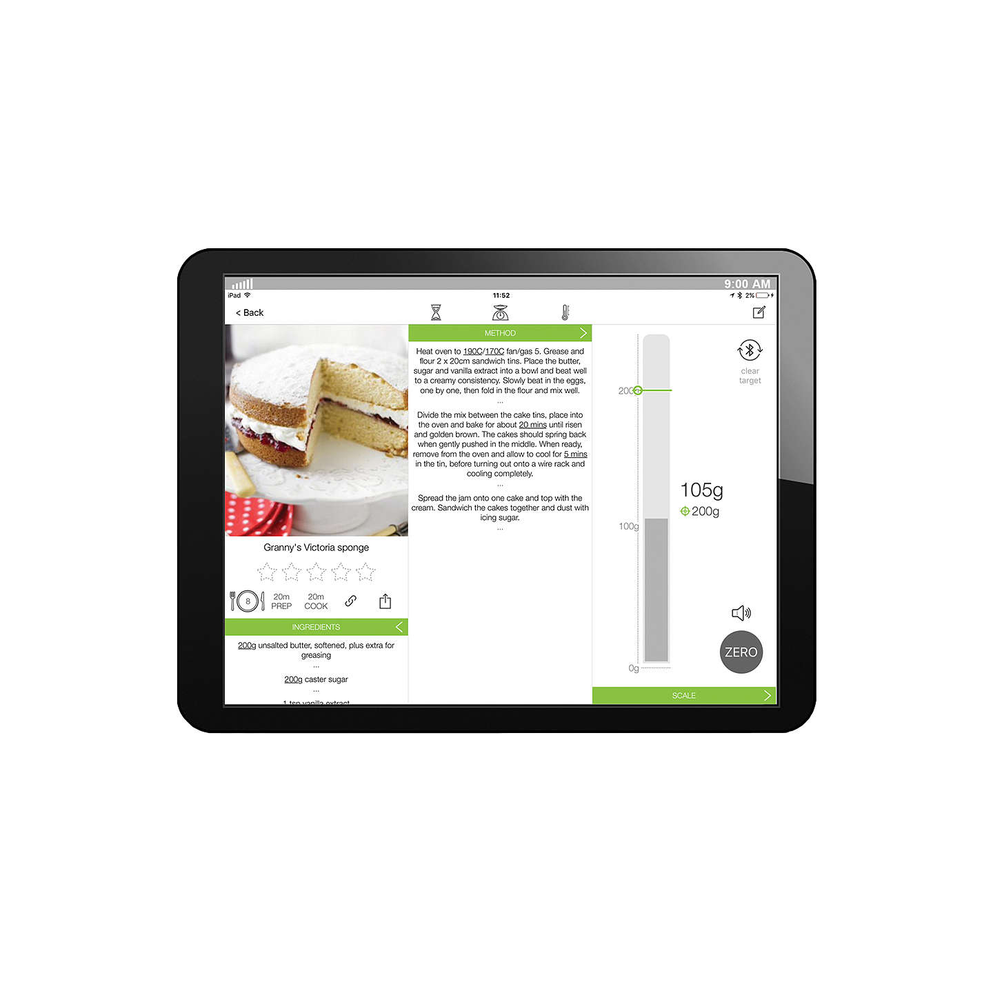 BuySalter Cook Pro Bluetooth Thermometer Online at johnlewis.com