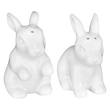 Buy Bunny Salt & Pepper Shakers, White Online at johnlewis.com