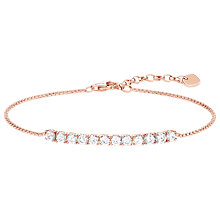 Buy THOMAS SABO Glam & Soul Filigree Cubic Zirconia Tennis Bracelet Online at johnlewis.com