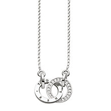 Buy Thomas Sabo Glam & Soul Together Forever Necklace, Silver Online at johnlewis.com