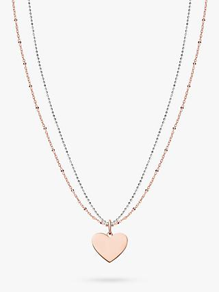 THOMAS SABO Love Bridge Heart Pendant Necklace