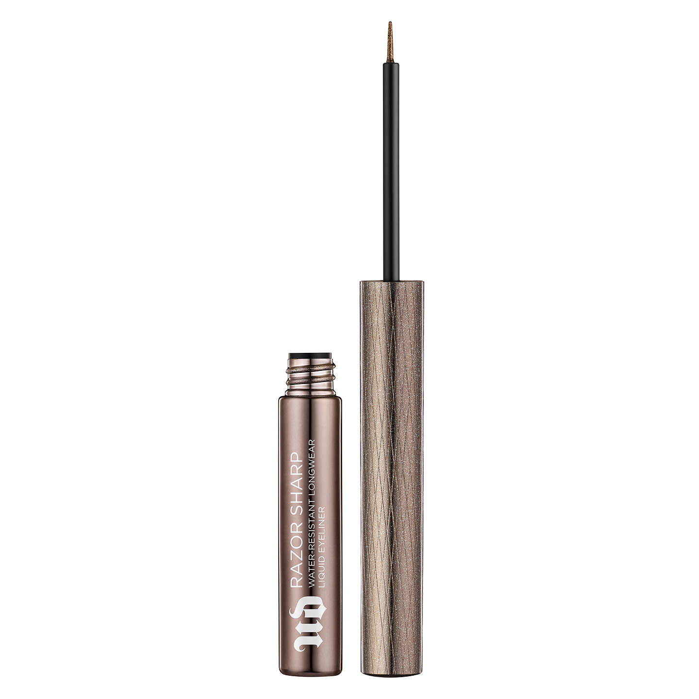 BuyUrban Decay Razor Sharp Water-Resistant Longwear Liquid Eyeliner, Dark Force Online at johnlewis.com