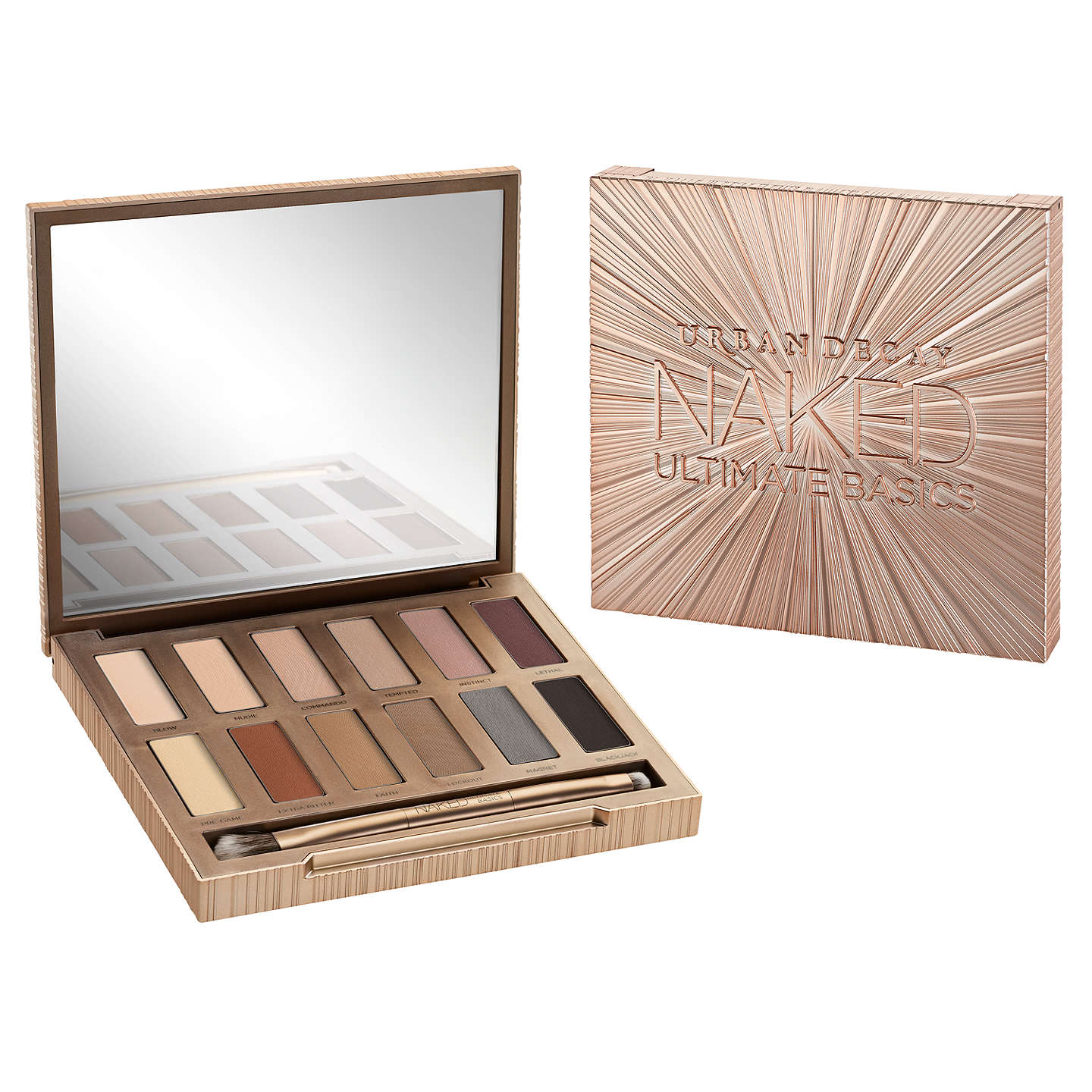 BuyUrban Decay Naked Ultimate Basics Eyeshadow Palette Online at johnlewis.com