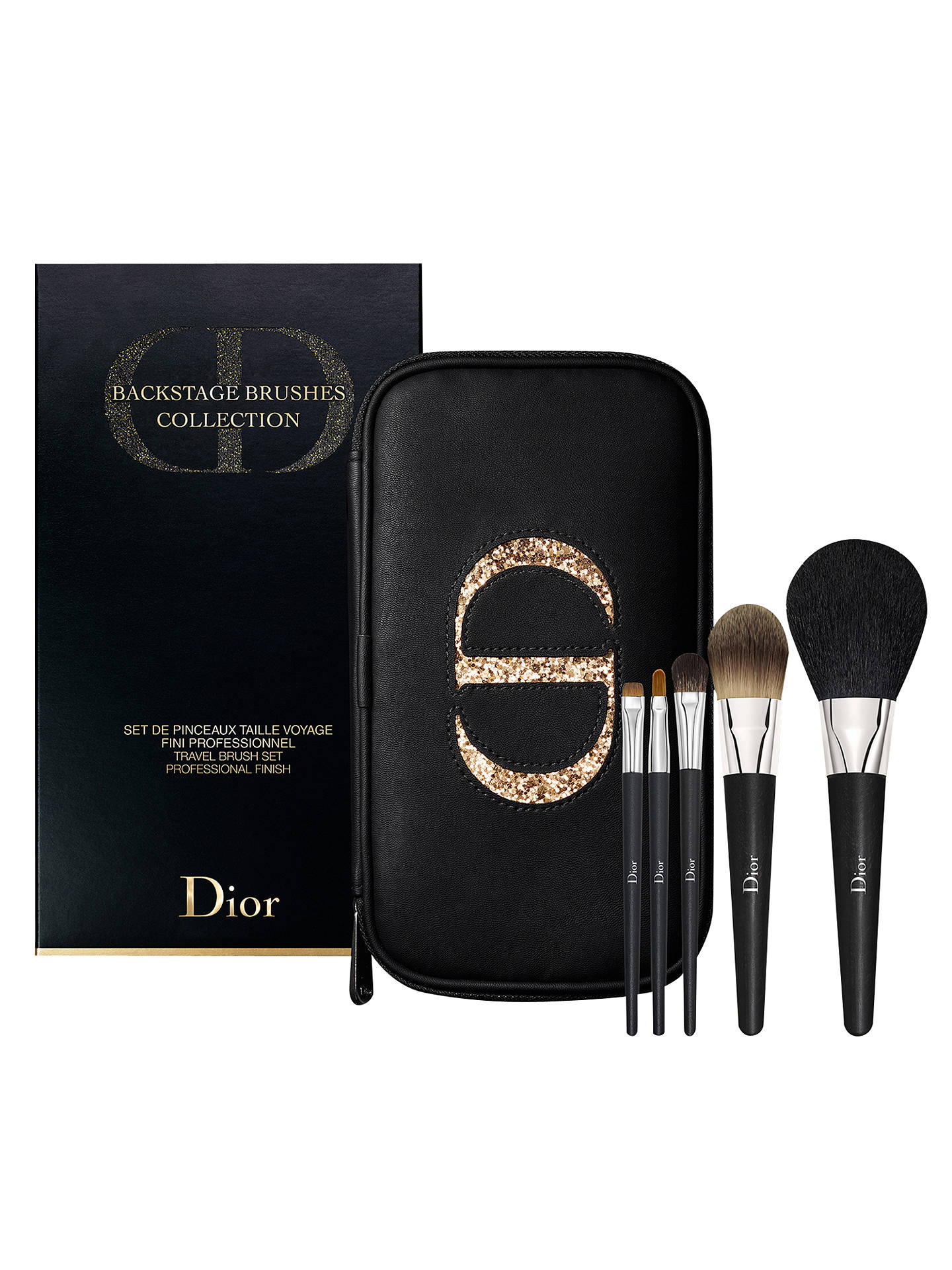 96ed6a06 Dior Backstage Brushes Collection Travel Brush Set at John Lewis ...