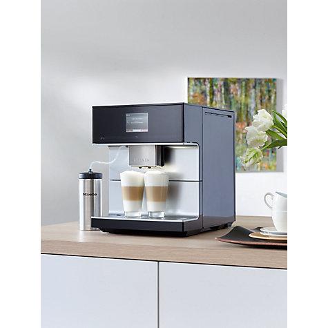 buy miele cm7300 bean to cup coffee machine black john lewis. Black Bedroom Furniture Sets. Home Design Ideas