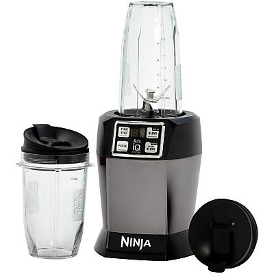 Nutri Ninja Blender AutoIQ BL480UKSG, Space Grey