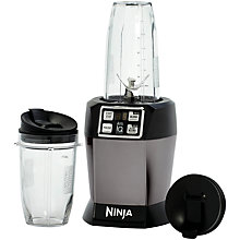 Buy Nutri Ninja Blender AutoIQ BL480UKSG, Space Grey Online at johnlewis.com