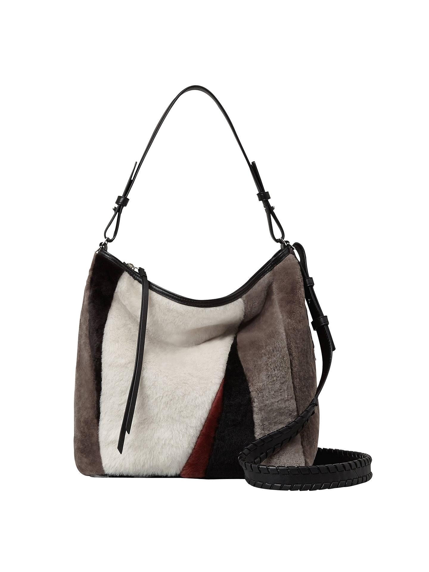 4a0d3334c7 Buy AllSaints Kita Crossbody Bag, Natural White Online at johnlewis.com ...